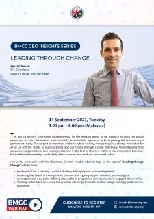 BMCC CEO Insights Series: Leading Through Change