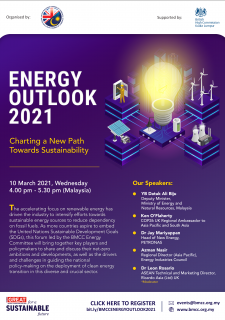 Energy Outlook 2021: Charting a New Path Towards Sustainability