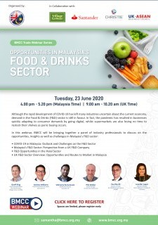 Opportunities in Malaysia's Food & Drinks Sector