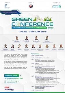 Green Conference 2020 - Sustainable Finance: A Blueprint for Green Recovery