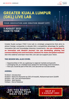 Greater Kuala Lumpur (GKL) Live Lab - Your Innovation and Ideation Smart City