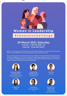 Women in Leadership: #ChooseToChallenge