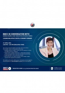 BMCC in Conversation with Surina Shukri, Chief Executive Officer of MDEC