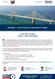 Penang - A Key Pillar to Malaysia's Trade