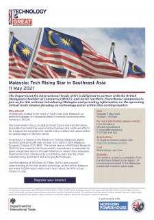 Malaysia: Tech Rising Star in Southeast Asia