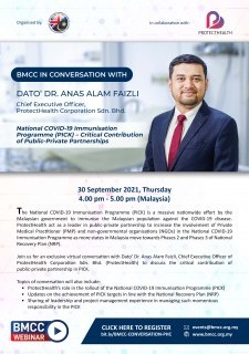 BMCC in Conversation with Dato' Dr. Anas Alam Faizli