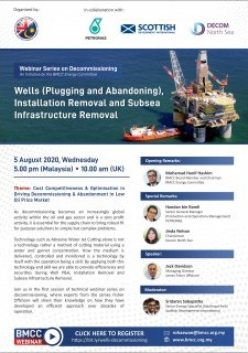 Wells (Plugging and Abandoning), Installation Removal and Subsea Infrastructure Removal