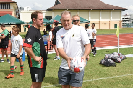 BMCC's 12th Annual Rugby Coaching Clinic