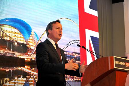 VIP Cocktail with British Prime Minister David Cameron