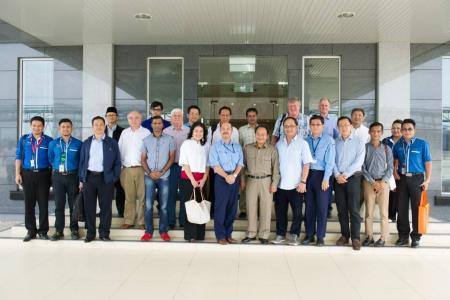 BMCC Sarawak Delegation - Tokuyama Site Tour