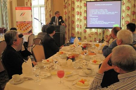 BMCC's Special Breakfast Talk with Barry Coulter