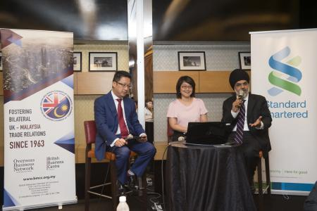 BMCC - Standard Chartered Bank Premier Luncheon with EY