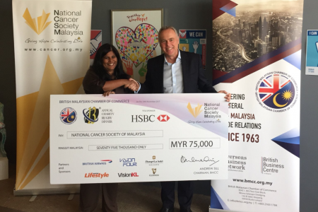 BMCC Cheque Donation to NCSM
